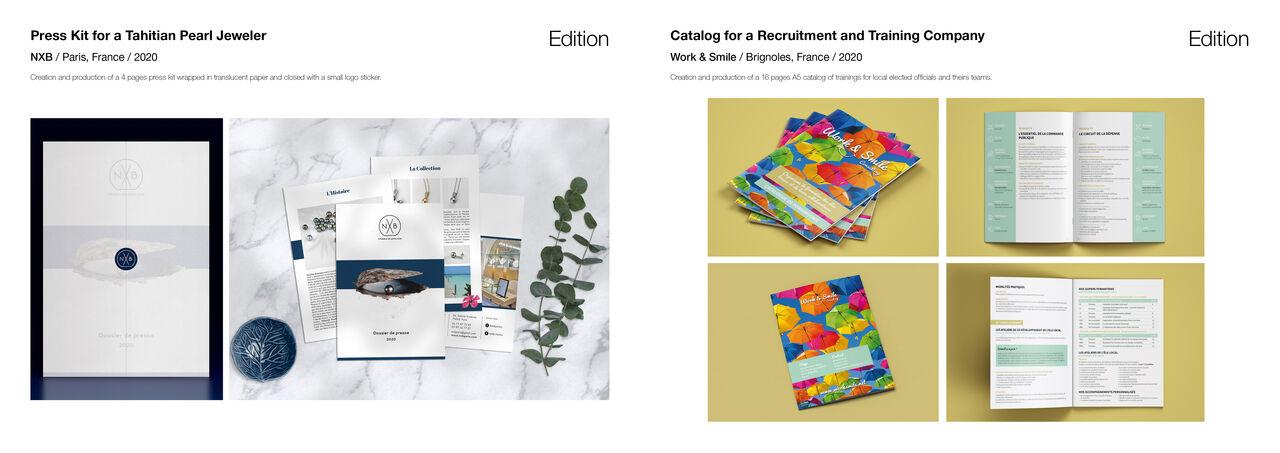 Dossier de presse + Catalogue