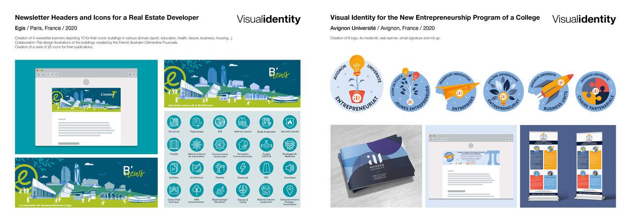 Bannières web / Newsletter + Identité visuelle
