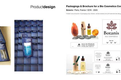 Packaging vinyle + Packaging cosmétiques bio