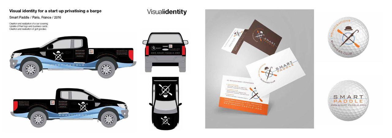 Habillage véhicule et identité visuelle
