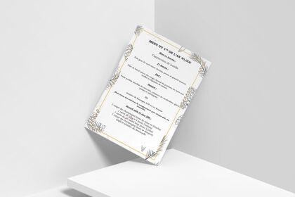 Carte Restaurant La Consigne