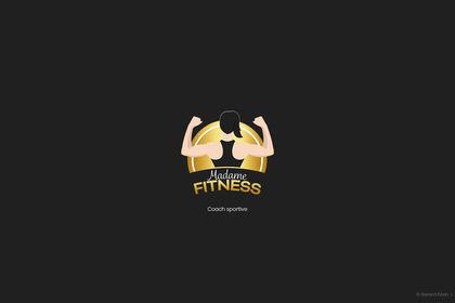 Logo illustration Madame Fitness