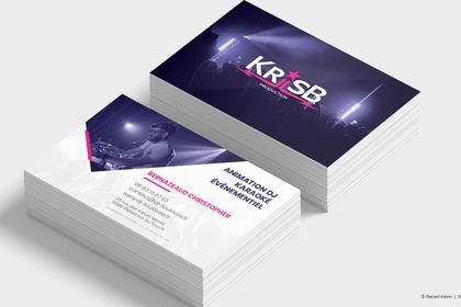 Carte de visite Kriis B Production