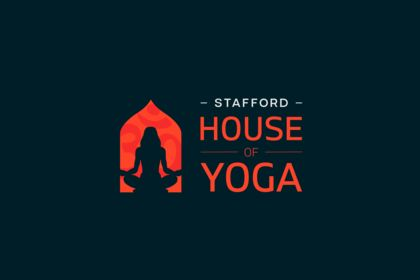 "Logo ""House of Yoga"""
