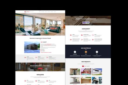 """Site web """"Gely Concept"""""""