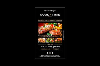 "Flyer ""Good Time"""