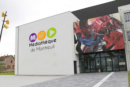 Identité visuelle - Médiathèque de Montreuil