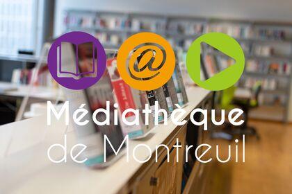 Logo Médiathèque de Montreuil