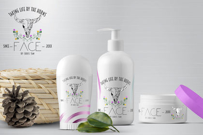 FACE COSMETIQUE LOGO & PACKAGING DESIGN