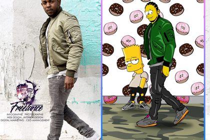 Kendrick Lamar en Simpson