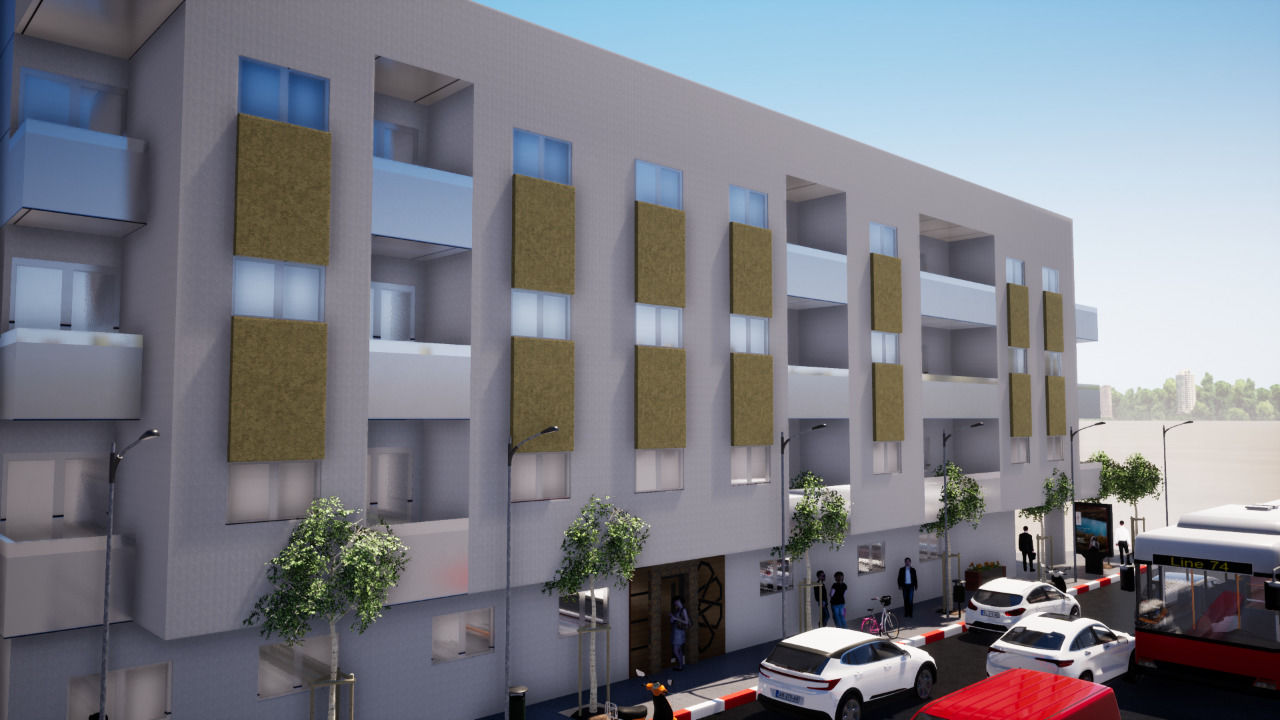 Conception 3D d'un complexe immobilier