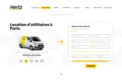 WEBSITE - HERTZ