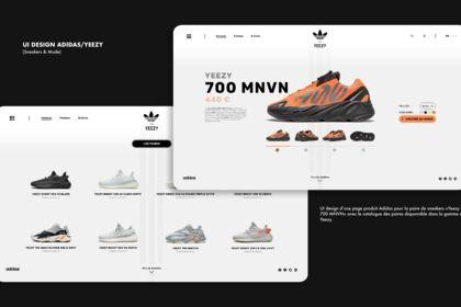 UI Design Adidas
