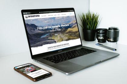 Andapura • site web