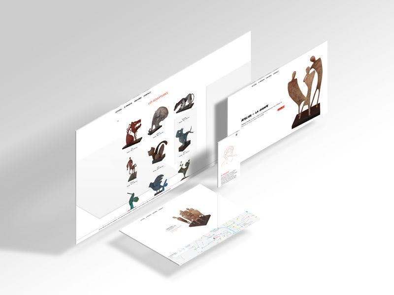 Smahane Girardet - Website
