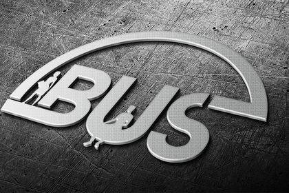 Le logo pour bus station