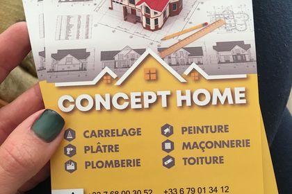 Le flyer pour Concept Home