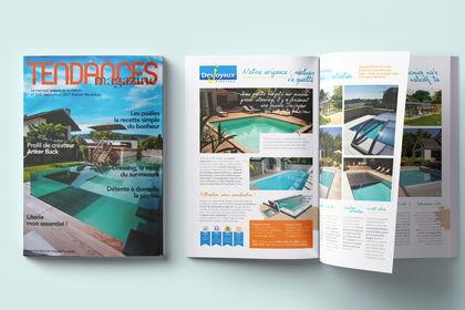 Publicité Desjoyaux Tendances Magazine