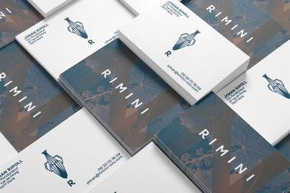 Cartes de visites Rimini