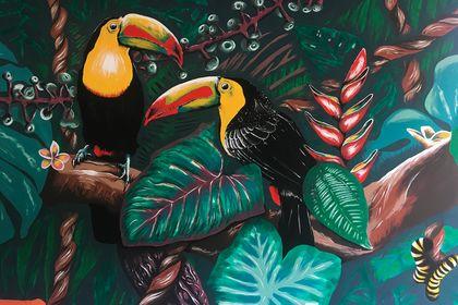 Fresque en Equateur