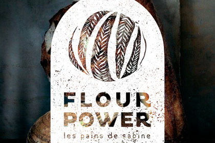 Logo Flour Power