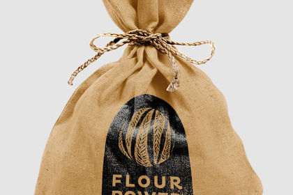 Logo Flour Power