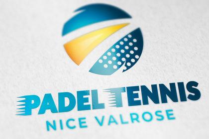 Création logo PADEL TENNS