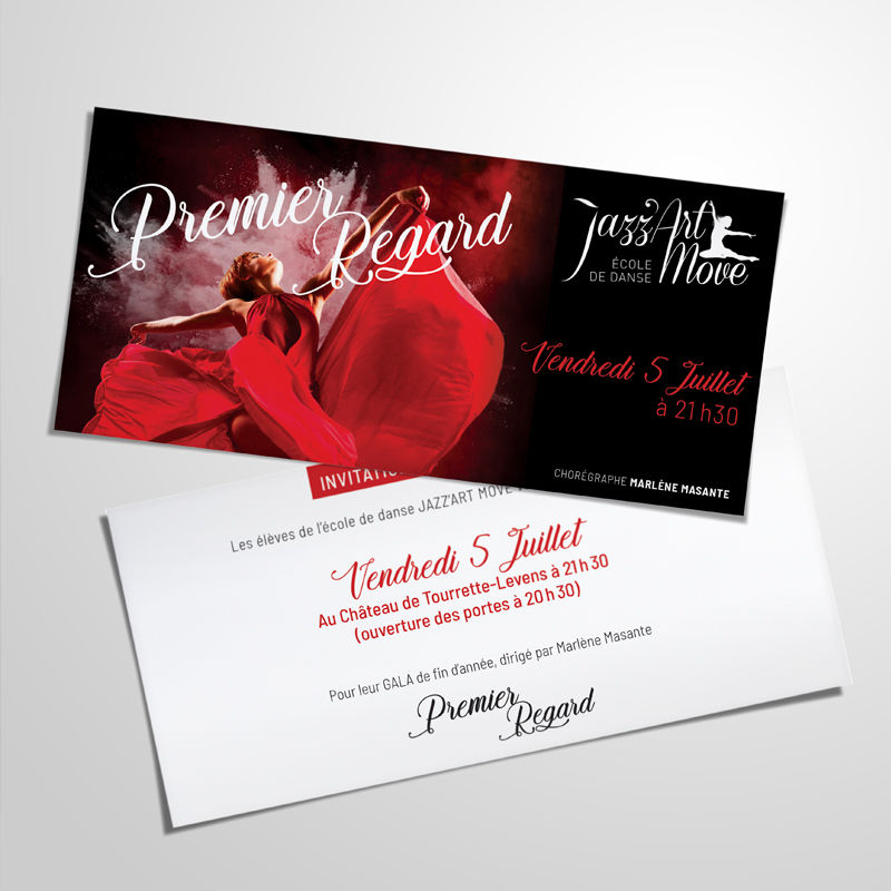 Invitations Jazz Art Move
