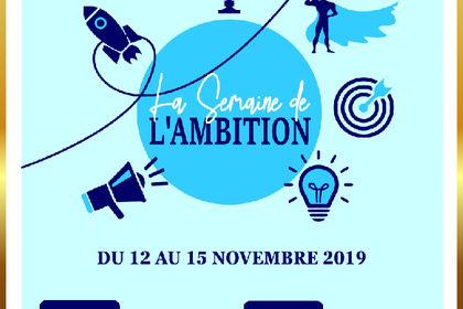 La Semaine de l'Ambition