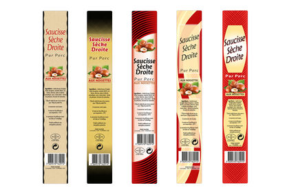 PACKAGINGS SAUCISSES SÈCHES