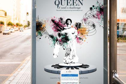 Affiche Queen Of Soul's Chanllenge