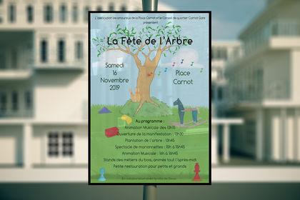 Affiche de la Fête de l'arbre
