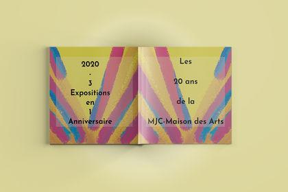 Livret des 20 ans de la MJC-Maison des Arts