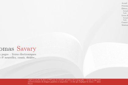 Page d'accueil de mon site «Compo85.fr».