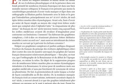 Th. Savary, «Voyage en ortografie», p.1.