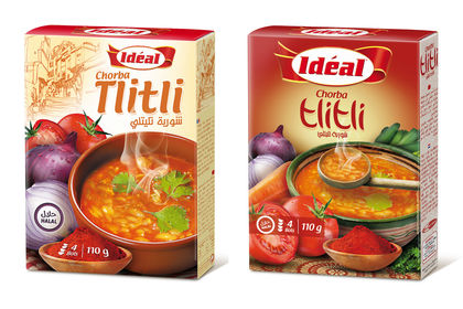 Packaging pour Soupe