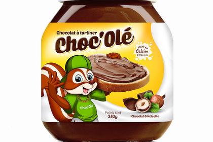 Packaging Chocolat à tartiner