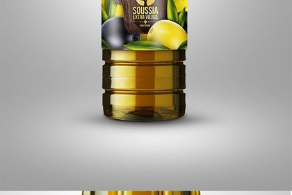 Packaging huile d'olive