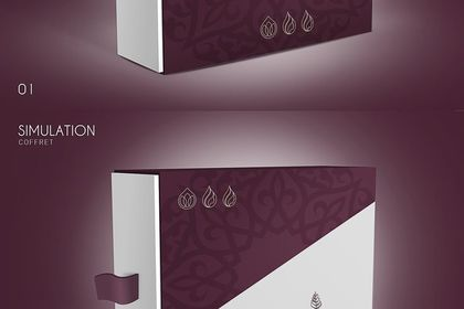 Conception logo & packaging d'huiles essentielles