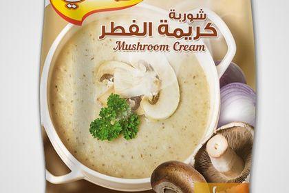Packaging Soupe de champignons