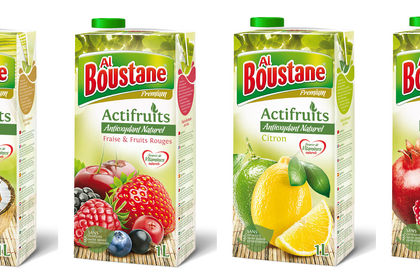 Packaging jus de fruits