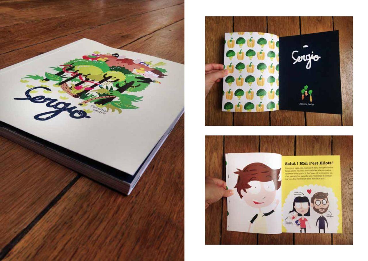 SERGIO, édition pour enfant
