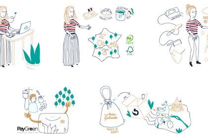 Illustration - Atelier Gabrielle
