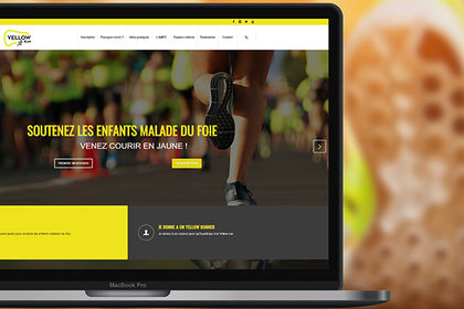 Création d'un site internet vitrine événementiel