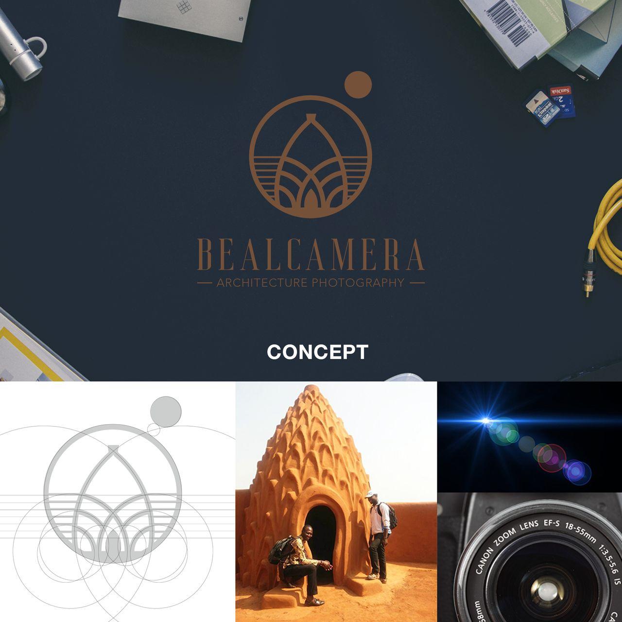 Concept du Logo BealCamera.