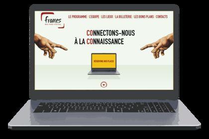 Site Web Frames Festival