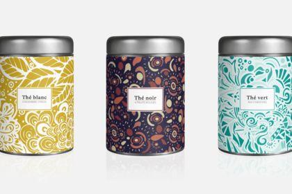 Boîtes de thé