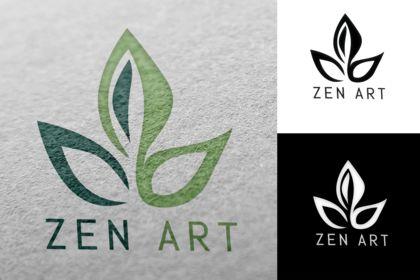 Logo zen art