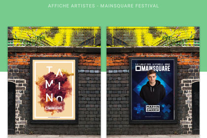 Graphic Design - Mainsquare Festival
