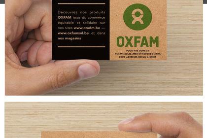 Business Card Design - Oxfam